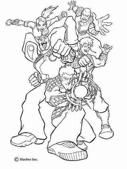 Action Heroes Force Coloring Pages Super Hellokids