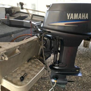 boat motor yamaha 40 hp tiller steer outboard for sale in australia