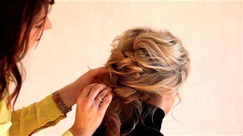coiffure bohème mariage tuto coiffure chignon boh 232 me