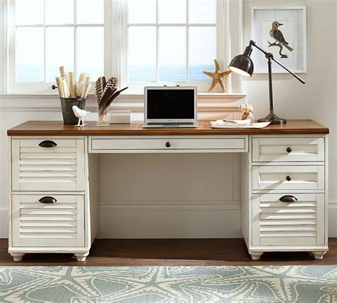 whitney rectangular desk pottery barn au
