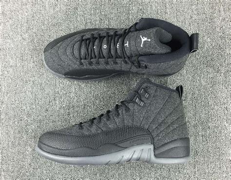 Air Jordan 12 Wool Grey Silver Black  Sneaker Bar Detroit
