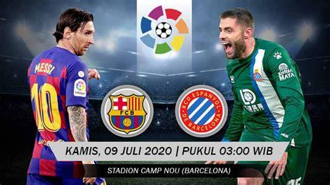 Prediksi Pertandingan LaLiga Spanyol Barcelona vs Espanyol ...