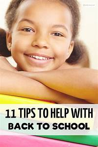 11 Tips To Help Your Child Back to School