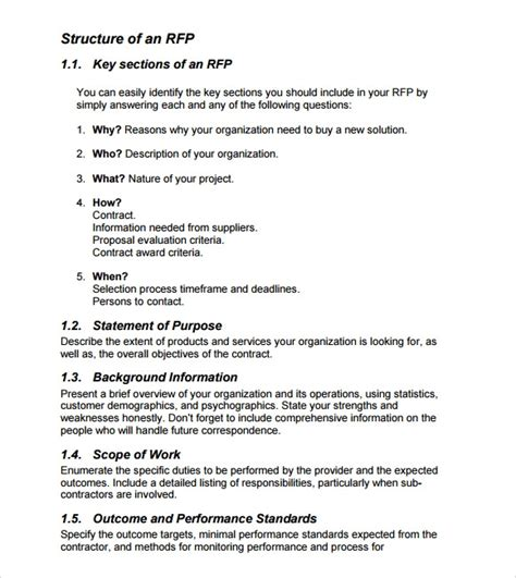 sle rfp template 8 free documents in pdf word