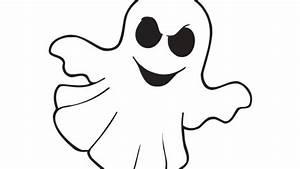 Dessin D Halloween Facile : sur le th me de l 39 halloween voici le desssin d 39 un fant me ~ Dallasstarsshop.com Idées de Décoration