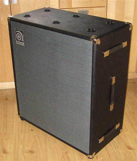 Eg V4 Cabinet For Bass by Sold For Sale 1971 Eg V4 4x12 Cab Talkbass