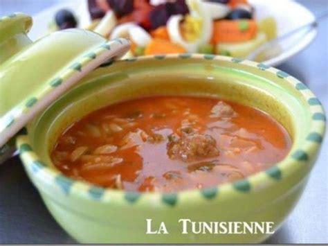 cuisine tunisienne chorba recettes de chorba de la tunisienne