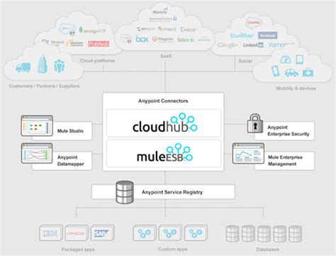 mulesoft launches anypoint integration platform  bags