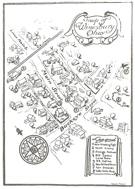 Map Maycomb Kill Mockingbird Description