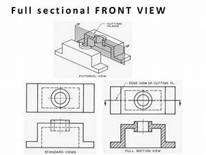 Projection Of Sectional View
