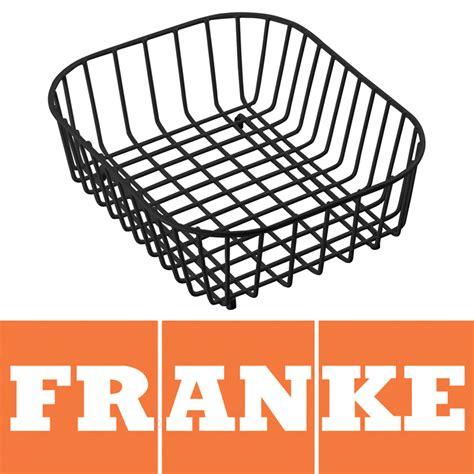 Franke Compact Kitchen Sink Drainer Basket Black 1120050