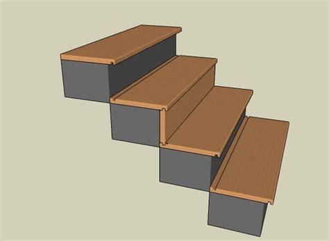 recouvrir un escalier de beton en parquet chene ma