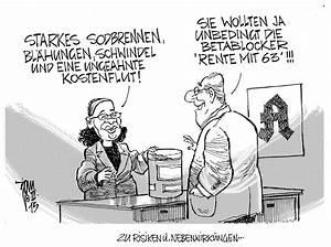 Rente Berechnen Mit 63 : ansturm auf rente mit 63 archives janson karikatur ~ Themetempest.com Abrechnung