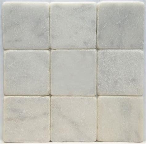 carrara marble italian white bianco 4x4 marble