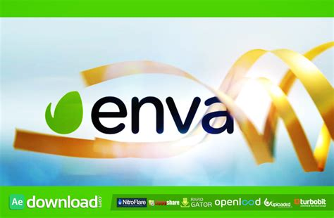 ribbon logo reveal videohive project free download free after effects template videohive