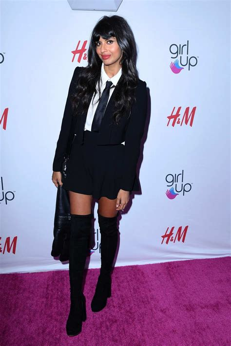 jameela jamil attends the 2nd annual girl up girlhero ...