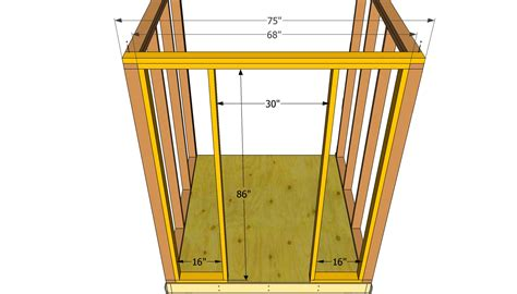 12x16 slant roof shed plans 100 12x16 slant roof shed plans shed plans