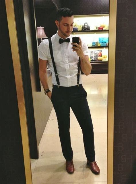 Outfit Ideas Wear Black Pants With Brown Shoes For Men