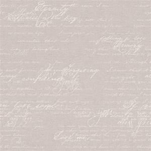 wallpaper rasch florentine writing vintage grey 449556 With balkon teppich mit rasch tapete schrift