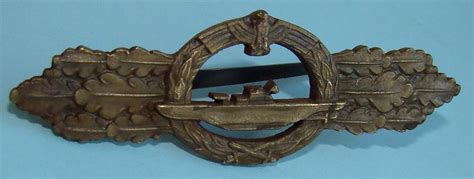 U Boat Original by Original U Boot Frontspange In Bronze