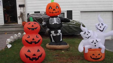 airblown inflatable  halloween decorations display