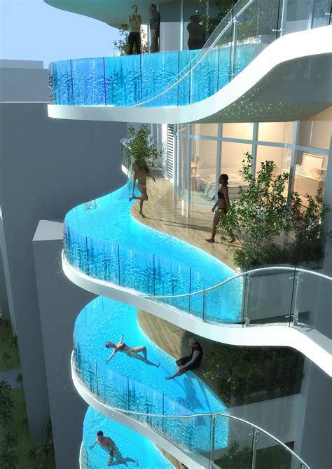luxury condo  india    private swimming pool