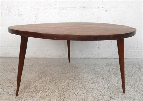 Mid-century Modern Small Round Coffee Table At Stdibs