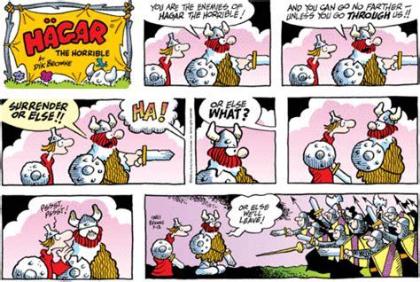 Hagar The Horrible, Comics