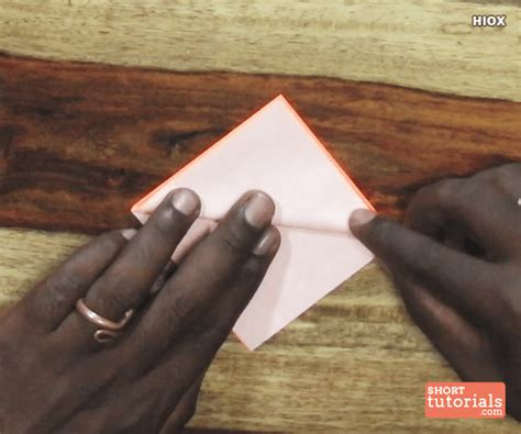 How To Make A Paper Boat Procedure by Paper Knife Boat Step 5