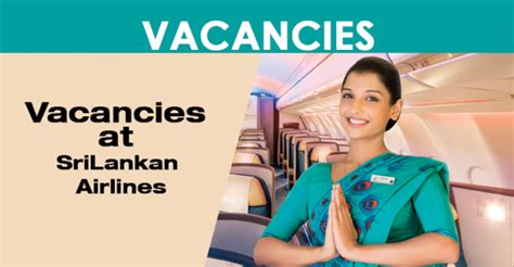 cabin crew opportunities vacancies at srilankan airlines cabin crew
