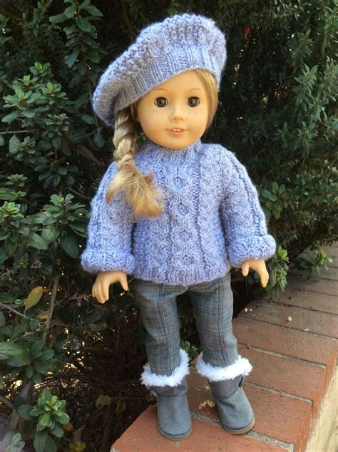 knitting patterns  american girl dolls  funky