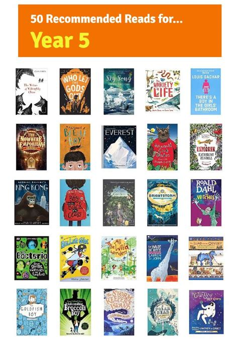 meadow vale primary school  recommended reads