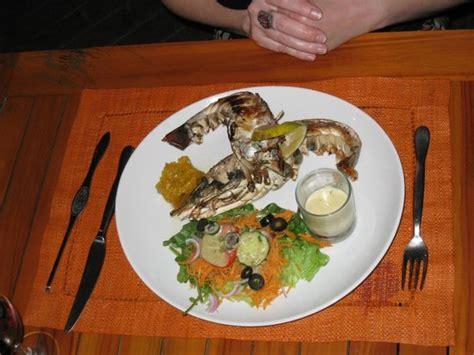 cuisine langouste plancha langouste un délice picture of restaurant la plancha