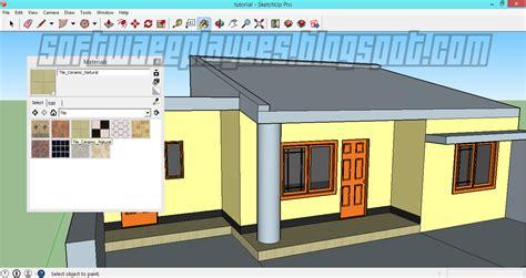 desain rumah minimalis sketchup homkonsep
