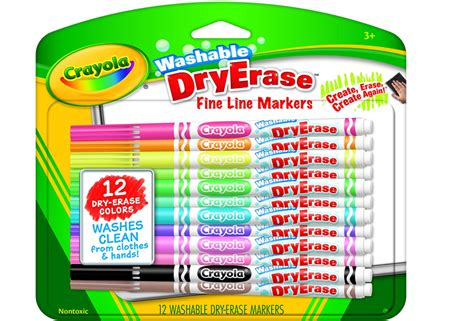 Crayola Washable Dry-erase Markers (12 Count) Only
