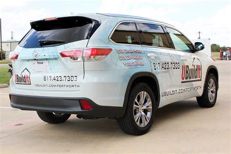 Car Wrap Advertising Fort Worth