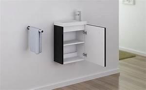 Waschtisch Inkl Unterschrank : badm bel unterschrank patro 45 in schwarz inkl waschtisch glasdeals ~ Bigdaddyawards.com Haus und Dekorationen