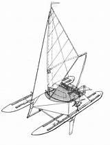 Katamaran Estratto sketch template