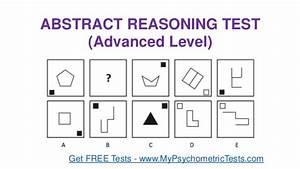 Abstract Reasoning Test Questions  U0026 Answers