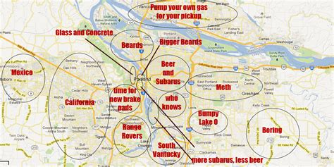 generalized  offensive map   portland metro area