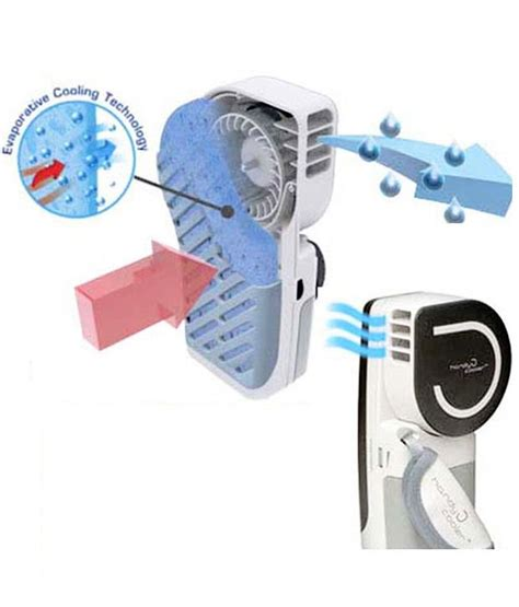 fans that cool like air conditioners gizmobaba gb93 portable evaporative air