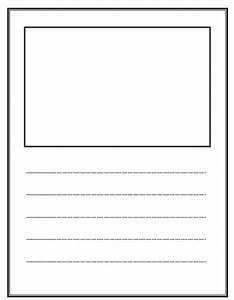 Write and Draw! Lined paper with space for story ...