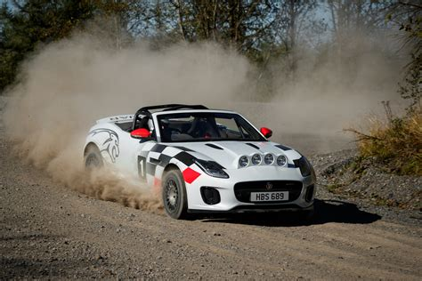 Unique Brace Of Jaguar F-type Rally Cars Revealed