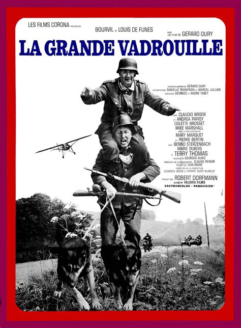 Sir reginald brook alias « big moustache » claudio brook : La Grande Vadrouille - Film (1966) - SensCritique