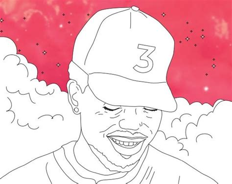 chance  rapper coloring books