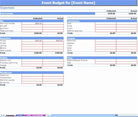 excel template expenses exceltemplates exceltemplates