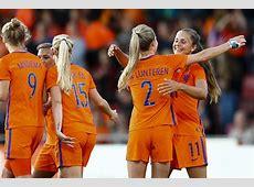 Oranje Leeuwinnen hebben weinig moeite met Oostenrijk