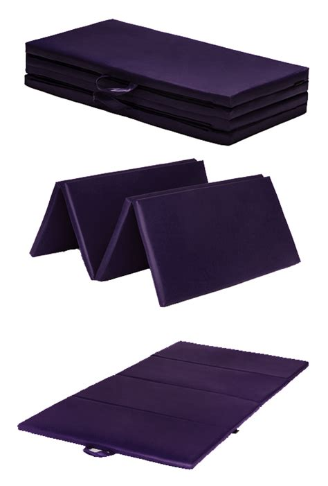 Gymnastics Floor Mat Dimensions by Purple Folding Large 8ft Play Mat Floor Exercise
