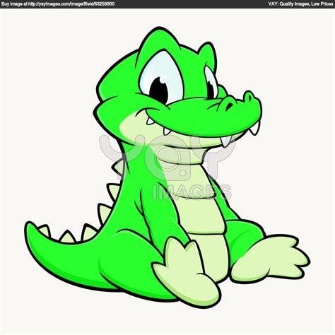 clipart alligator cartoon  clip art