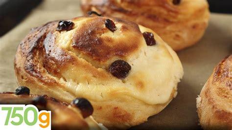 recette de pains aux raisins 750 grammes